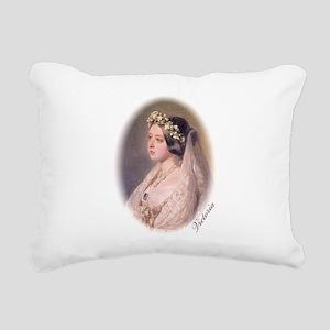Queen Victoria Rectangular Canvas Pillow