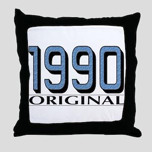 1990 Original Throw Pillow