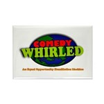 Comedy Whirled Ware Rectangle Magnet (100 pack)