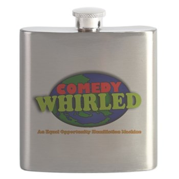 Comedy Whirled Ware Flask