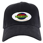 Comedy Whirled Ware Black Cap