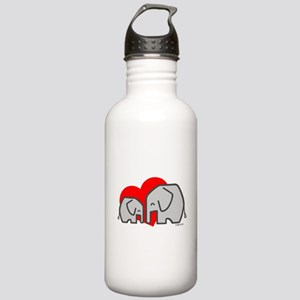 Elephants(3) Stainless Water Bottle 1.0L