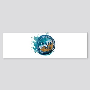 Virginia - Ocean View Bumper Sticker