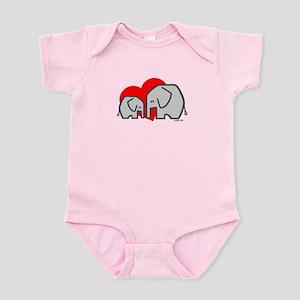 Elephants(3) Infant Bodysuit