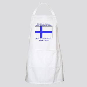 Blood of Finns BBQ Apron