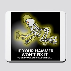 Hammer Mechanic Mousepad