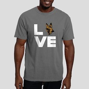 I Love My German Shepher Mens Comfort Colors Shirt