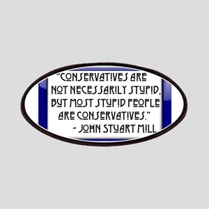 Conservatives are not stupid Patches