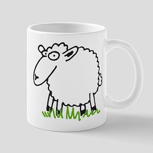 comic sheep Mug