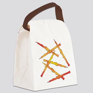 Fiery Oboes Canvas Lunch Bag
