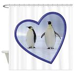 Emperor Penguins Shower Curtain