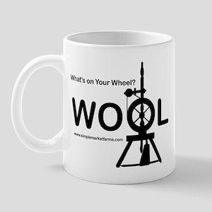 Wool on Wheel - Reg. Mug