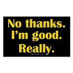 nothanks.rect.sticker Sticker (Rectangle 50 pk)