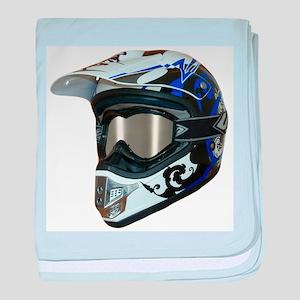 Premises187's MX Helmet Custom Design baby blanket