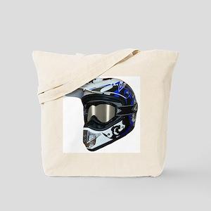 Premises187's MX Helmet Custom Design Tote Bag