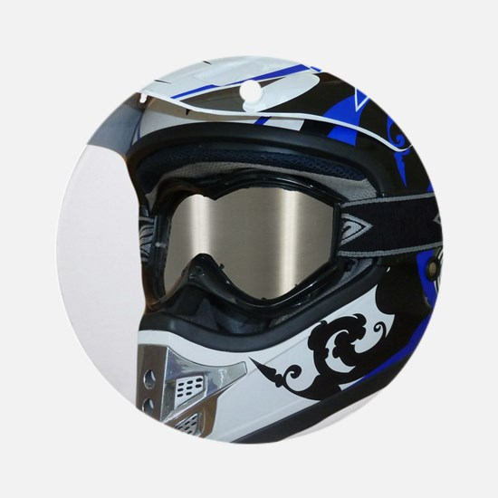 Premises187's MX Helmet Custom Design Ornament (Ro
