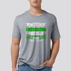 Crossword Puzzles Shirts Mens Tri-blend T-Shirt