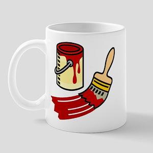 Paint Can & Brush Mug