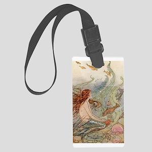 Mermaid Large Luggage Tag