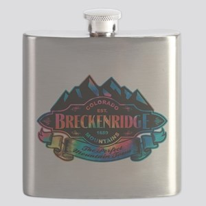 Breckenridge Mountain Emblem Flask