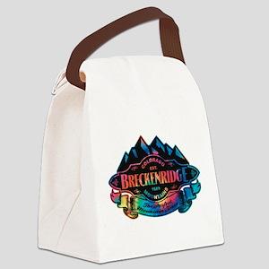 Breckenridge Mountain Emblem Canvas Lunch Bag