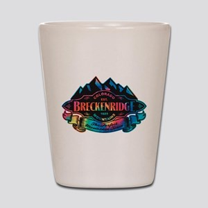 Breckenridge Mountain Emblem Shot Glass