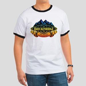 Breckenridge Mountain Emblem Ringer T