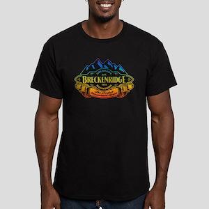 Breckenridge Mountain Emblem Men's Fitted T-Shirt