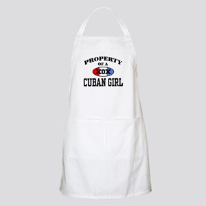 Property of a Cuban Girl  BBQ Apron