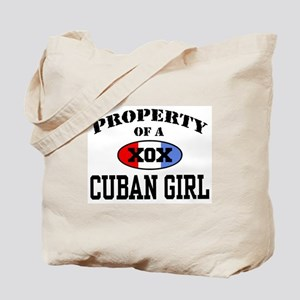 Property of a Cuban Girl  Tote Bag