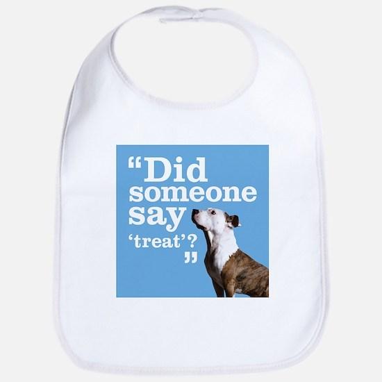 Treat Dog Bib