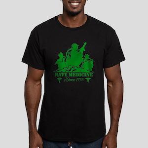 design Men's Fitted T-Shirt (dark)