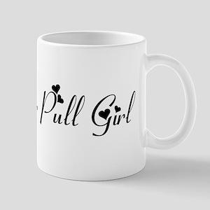 Tractor Pull Girl Mug