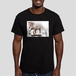 Appaloosa Horse Men's Fitted T-Shirt (dark)