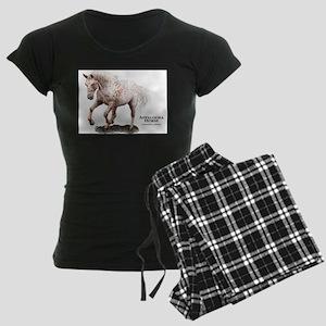 Appaloosa Horse Women's Dark Pajamas