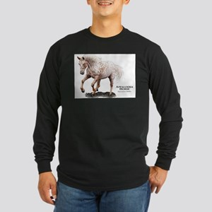 Appaloosa Horse Long Sleeve Dark T-Shirt