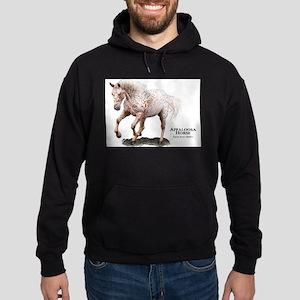 Appaloosa Horse Hoodie (dark)