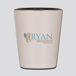Ryan Endodontics Shot Glass
