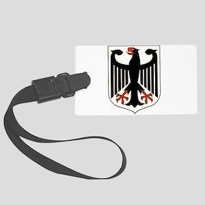 West German Eagle Large Luggage Tag