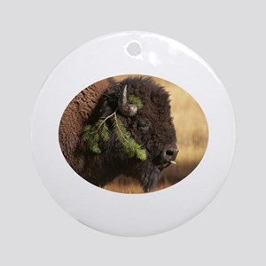 Holiday Mischief Ornament (Round)
