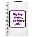 my dog walks all over my v2 Journal