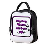 my dog walks all over my v2 Neoprene Lunch Bag