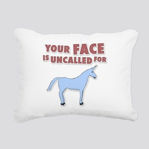 Your Face Rectangular Canvas Pillow