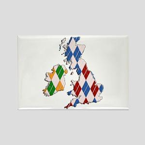 British Isles Rectangle Magnet