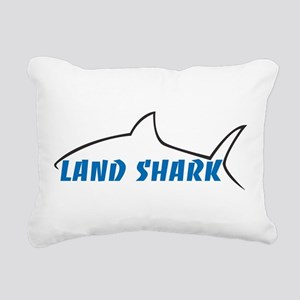 Land Shark Rectangular Canvas Pillow