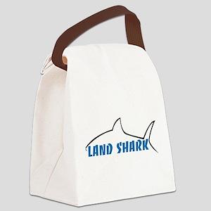 Land Shark Canvas Lunch Bag