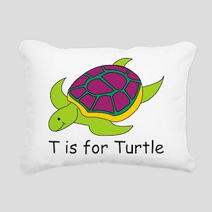 Turtle10 Rectangular Canvas Pillow