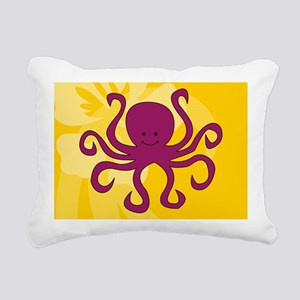 Octopus Rectangular Canvas Pillow