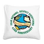 Earth Day Square Canvas Pillow