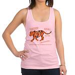 Tiger Facts Racerback Tank Top